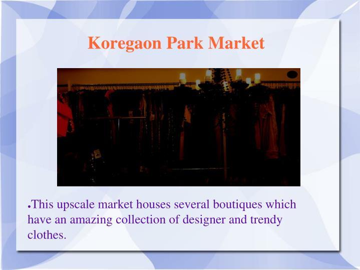 Koregaon Park Market