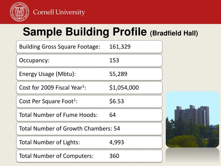 Sample Building Profile