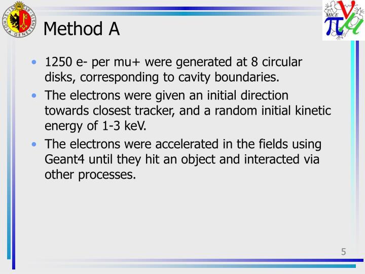 Method A
