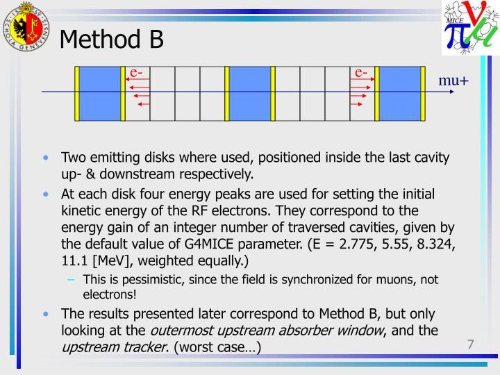 Method B
