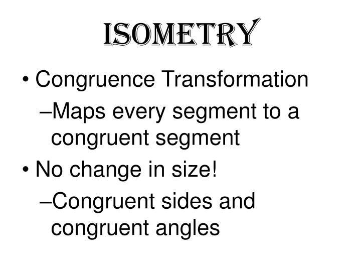 isometry