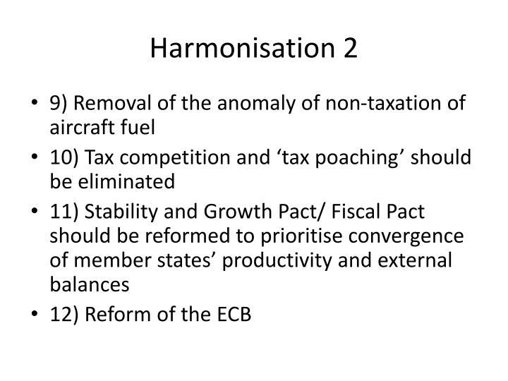 Harmonisation 2