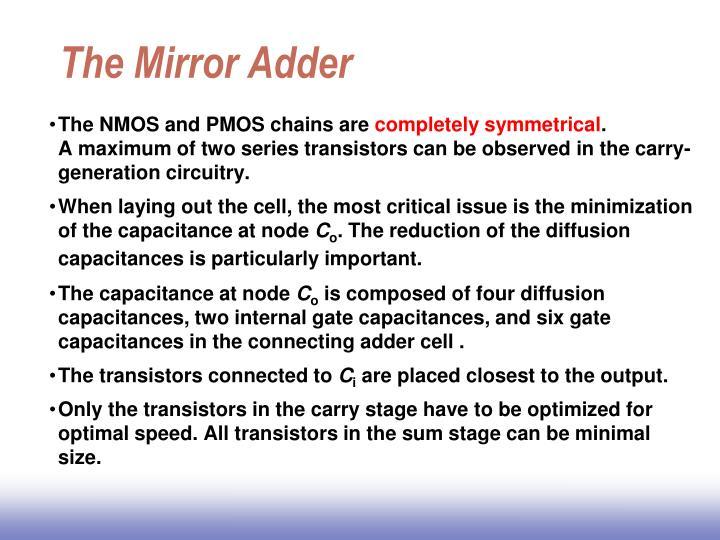The Mirror Adder