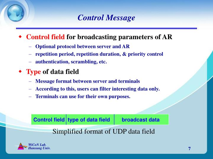 Control Message