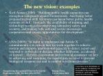 the new vision examples