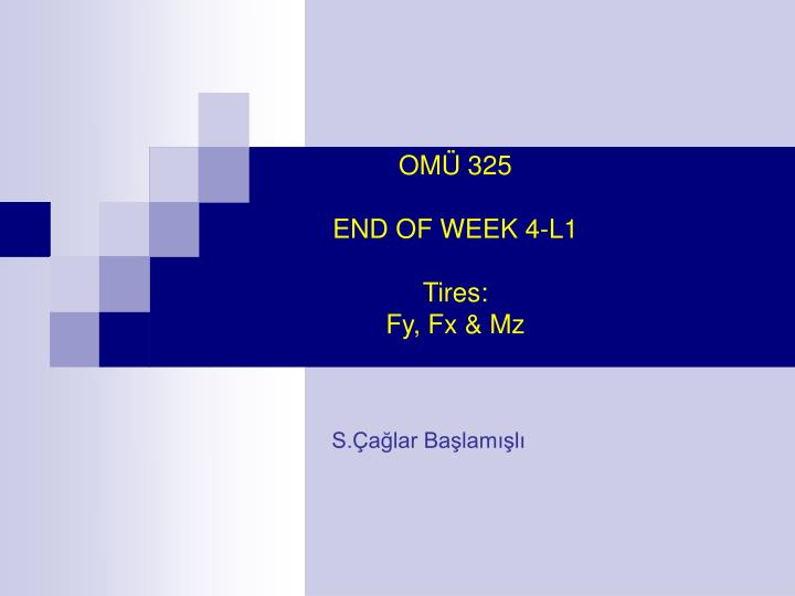 OMÜ 325