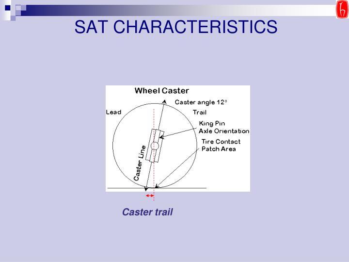 SAT CHARACTERISTICS