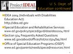 u s dept of education continued