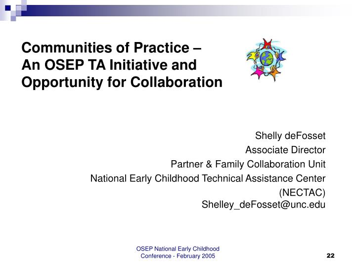Communities of Practice –