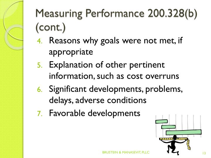 Measuring Performance 200.328(b
