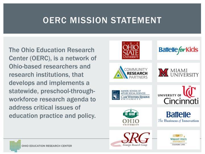 OERC Mission Statement