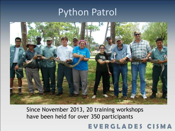 Python Patrol