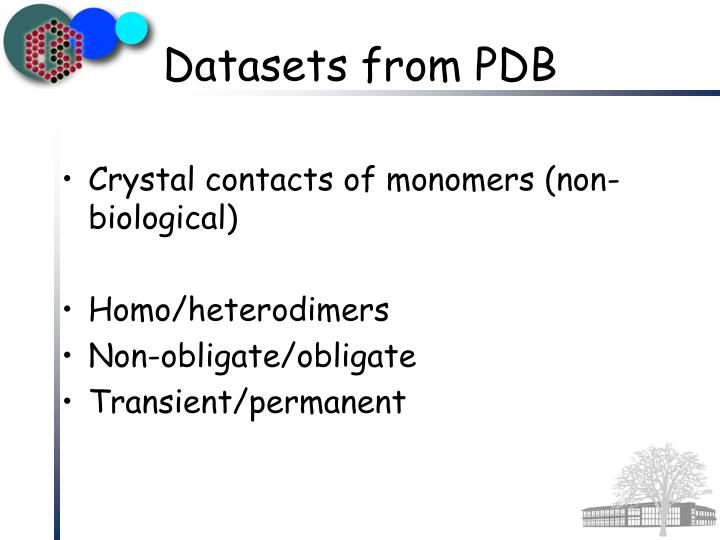Crystal contacts of monomers (non-biological)