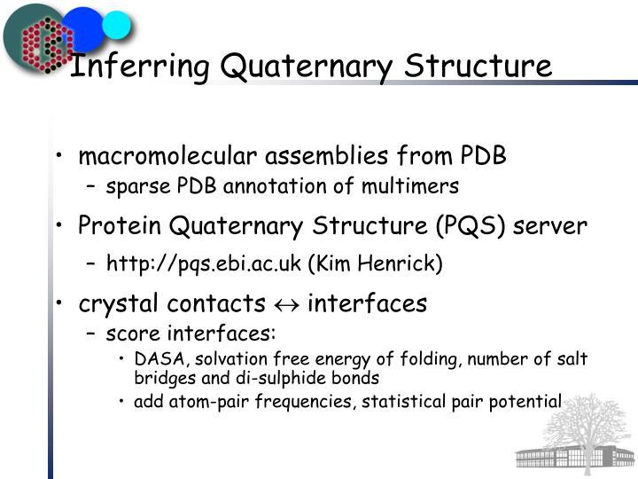 macromolecular assemblies from PDB