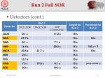 run 2 full sor4