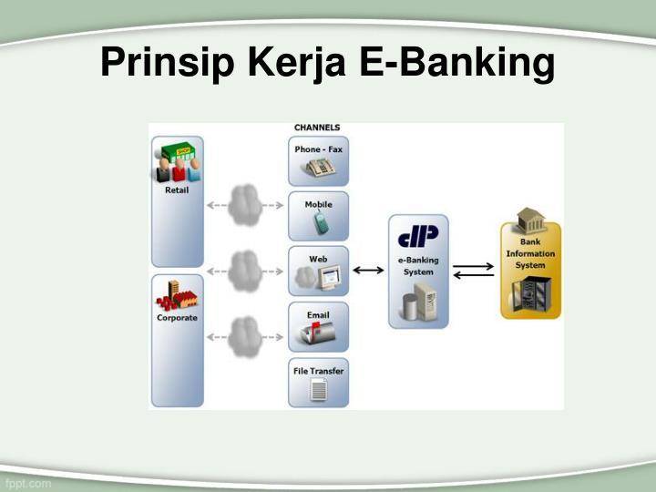 Prinsip Kerja E-Banking
