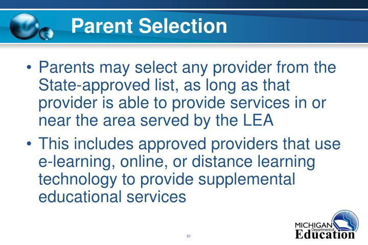 Parent Selection