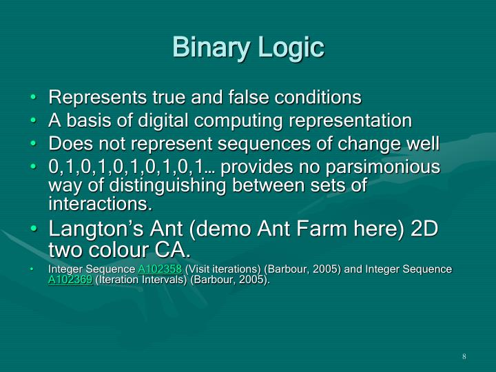 Binary Logic