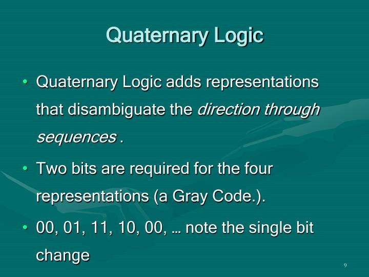 Quaternary Logic