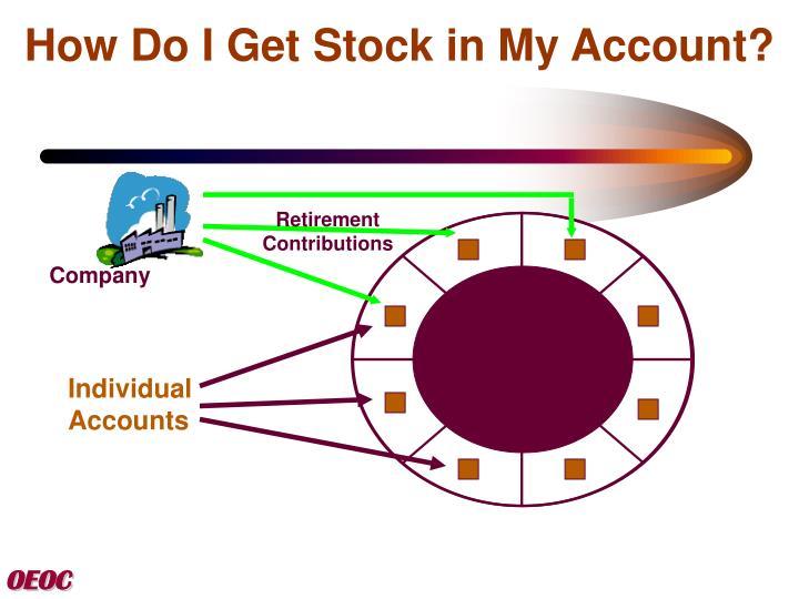 How do i get stock options