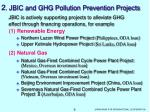 2 jbic and ghg pollution prevention projects