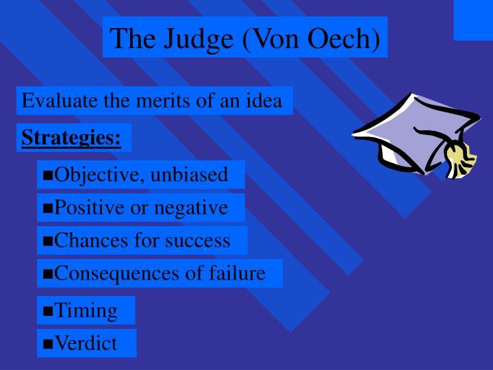 The Judge (Von Oech)