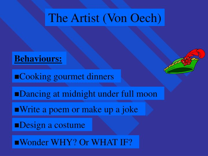 The Artist (Von Oech)