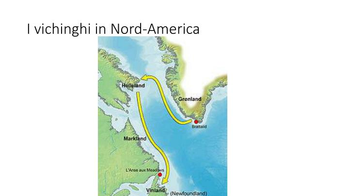 I vichinghi in Nord-America