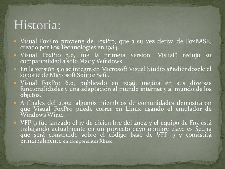 Historia: