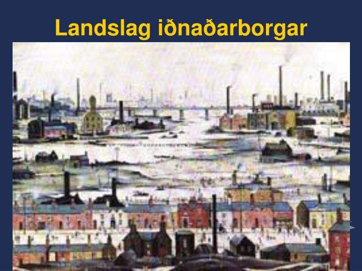 Landslag iðnaðarborgar