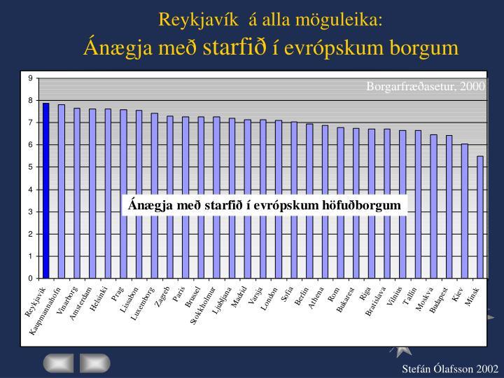 Reykjavík  á alla möguleika: