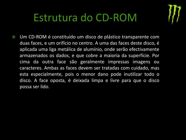 Estrutura do CD-ROM