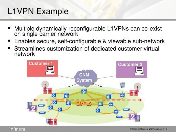 L1VPN Example