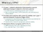what is a l1vpn