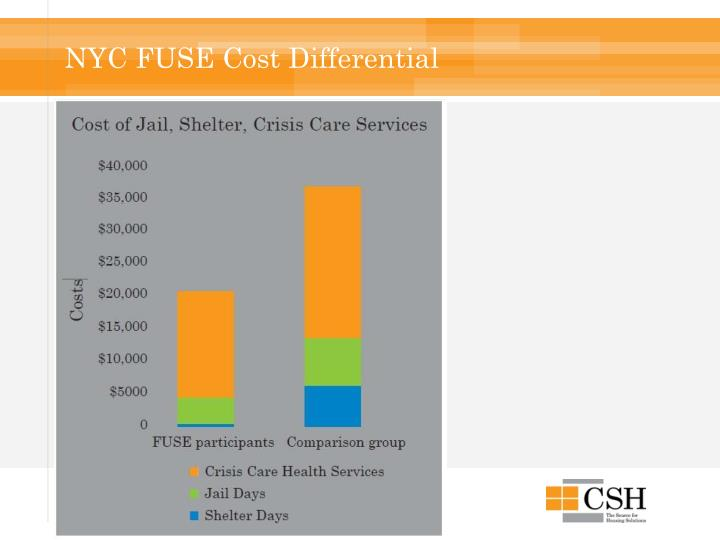 NYC FUSE Cost Differential