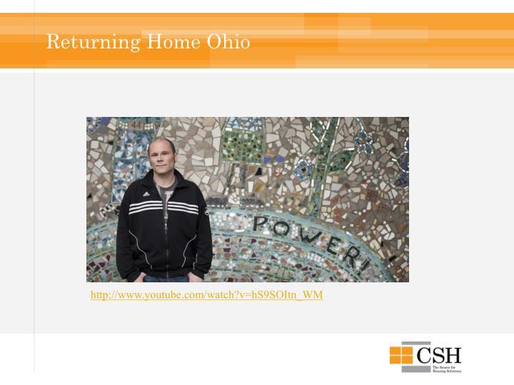 Returning Home Ohio
