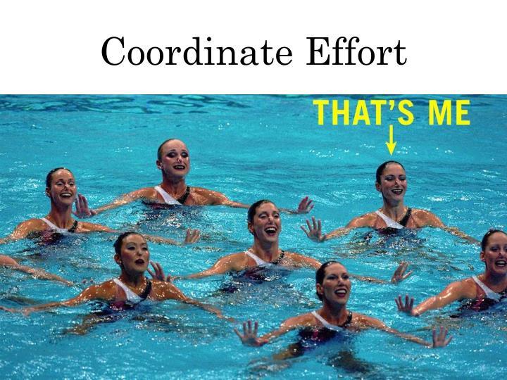 Coordinate Effort