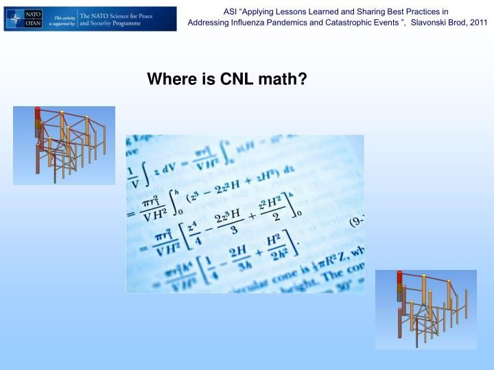 Where is CNL math?