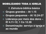 mobilizando toda a igreja