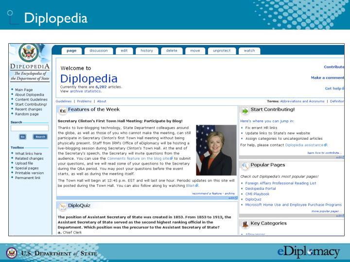 Diplopedia