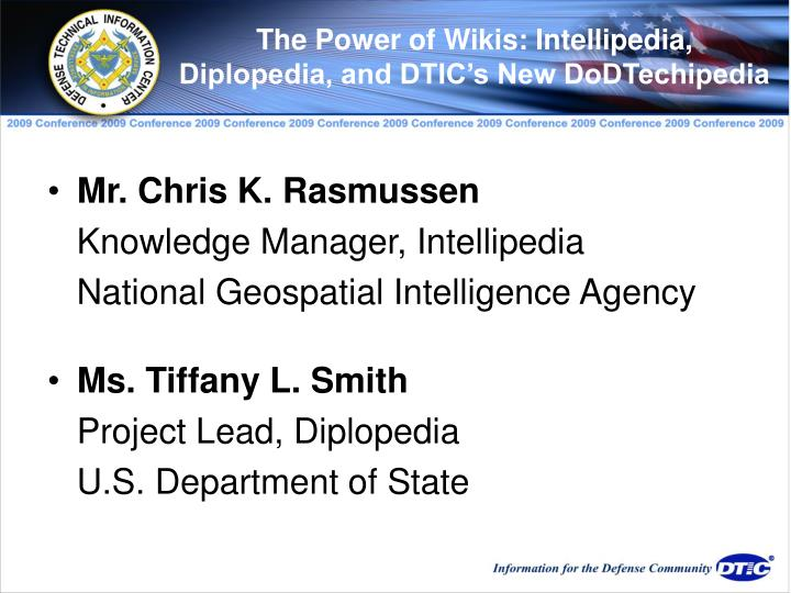 The Power of Wikis: Intellipedia,