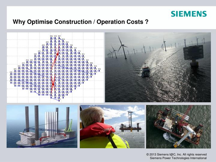 Why optimise construction operation costs