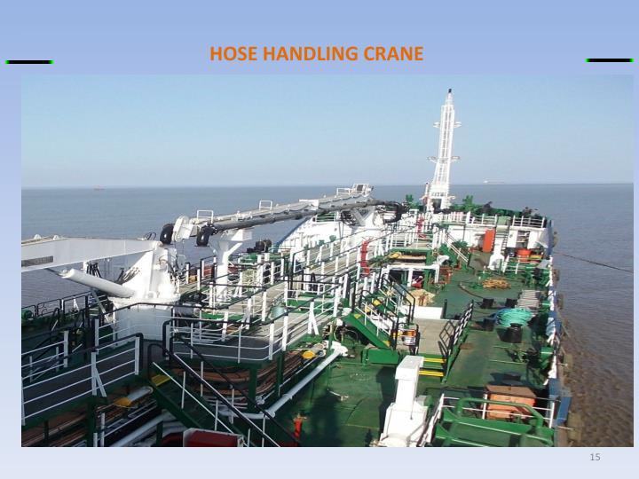 HOSE HANDLING CRANE