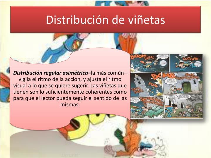 Distribución de viñetas