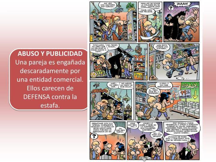 ABUSO Y PUBLICIDAD