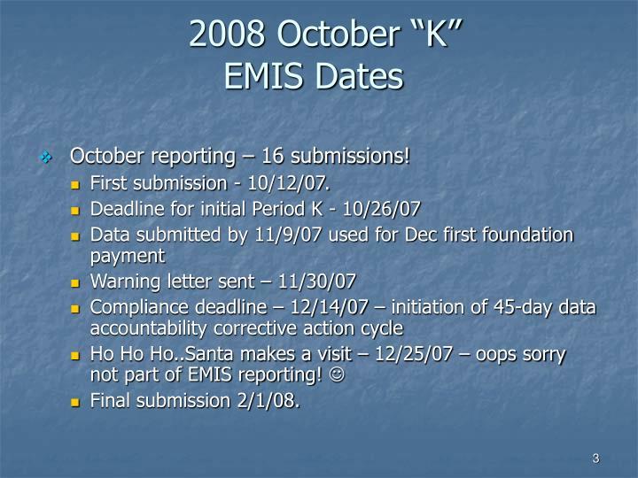 """2008 October """"K"""""""