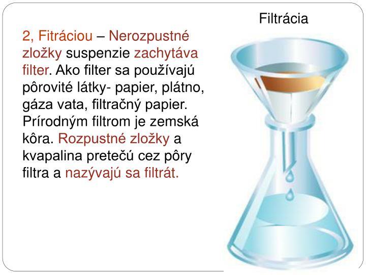 Filtrácia