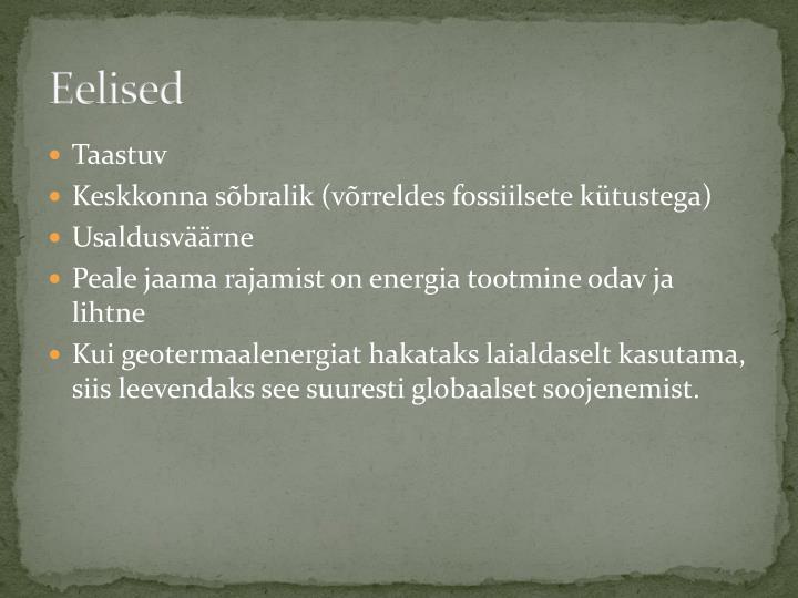 Eelised
