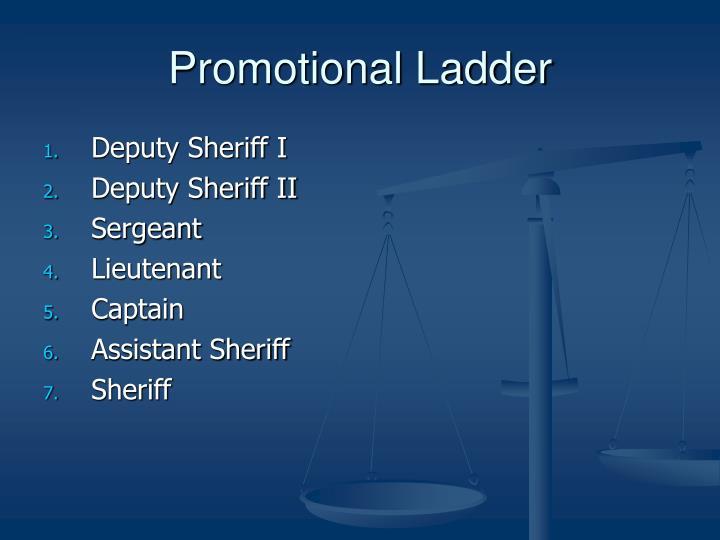 Promotional Ladder