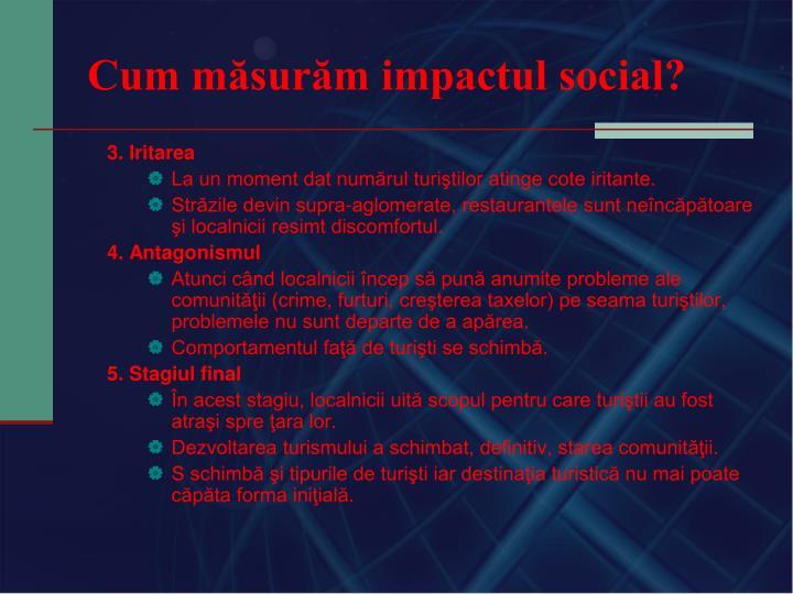 Cum măsurăm impactul social?
